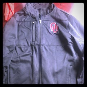 Soft shell Oklahoma sooner jacket